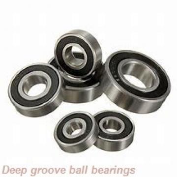 10 mm x 30 mm x 9 mm  skf W 6200-2RZ Deep groove ball bearings