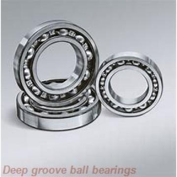 75 mm x 130 mm x 25 mm  skf 215-ZNR Deep groove ball bearings