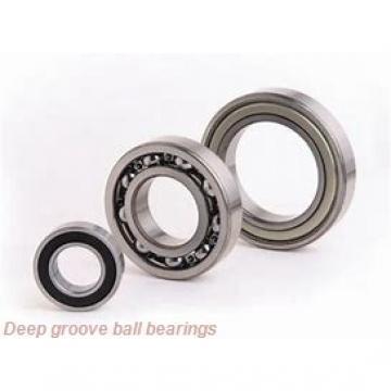 8 mm x 24 mm x 8 mm  skf 628-2RZ Deep groove ball bearings
