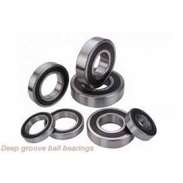 12 mm x 28 mm x 8 mm  skf W 6001-2Z Deep groove ball bearings