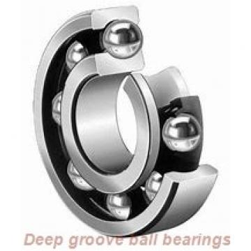 17 mm x 26 mm x 7 mm  skf W 63803-2RS1 Deep groove ball bearings