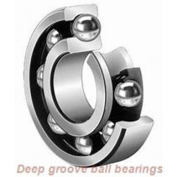 5 mm x 11 mm x 4 mm  skf W 628/5-2Z Deep groove ball bearings