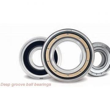 15.875 mm x 34.925 mm x 8.733 mm  skf D/W R10-2Z Deep groove ball bearings